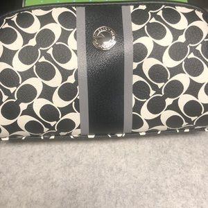 Coach makeup pouch